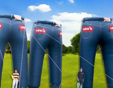 Publicidad inflable - LEVI´S Colombia
